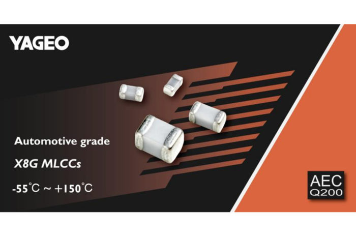 Yageo Released Automotive X8G MLCCs withstanding 150°C Working Temperature