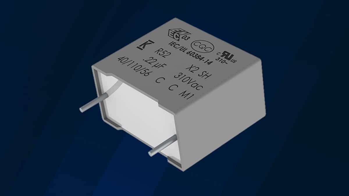 KEMET Introduces Space-Saving Film Capacitor for Automotive, Industrial, Consumer, and Energy Applications