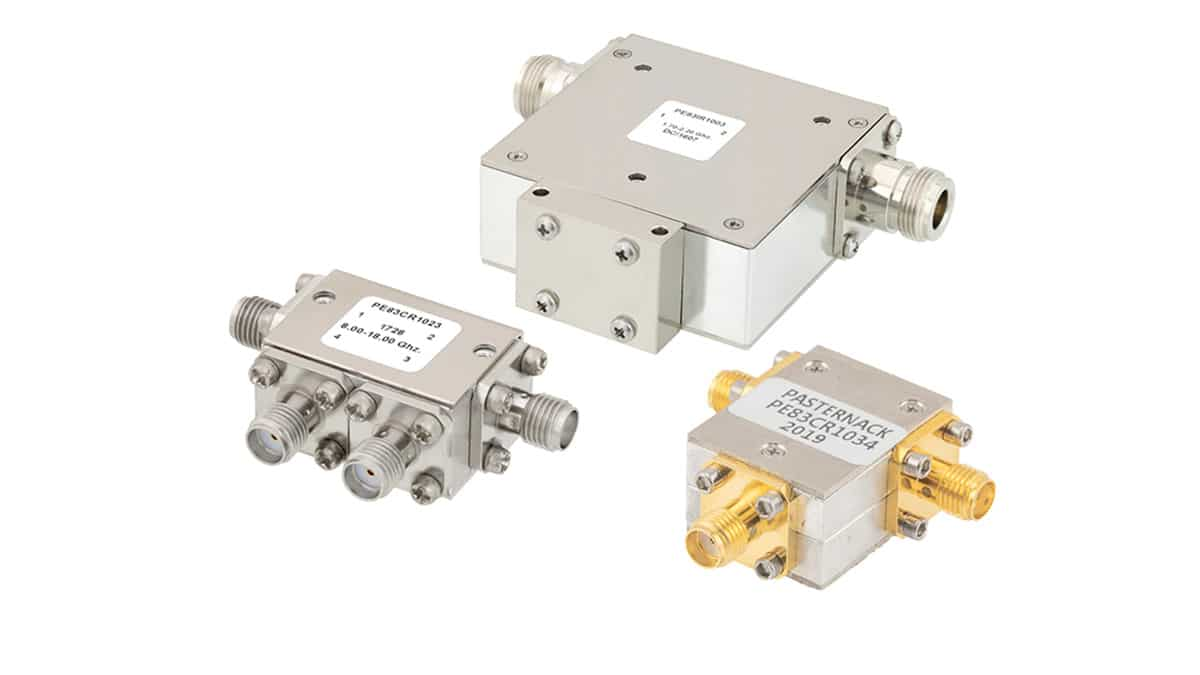 Pasternack Introduces New Line of Circulators/Isolators for 5G, Satellite and Radio Communications with Operating Frequency up to 42.5GHz