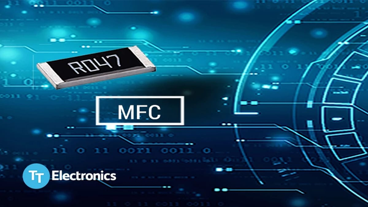 TT Electronics' New Surface Mount Resistors Leverage Metal Foil on Ceramic Technology for Enhanced Reliability