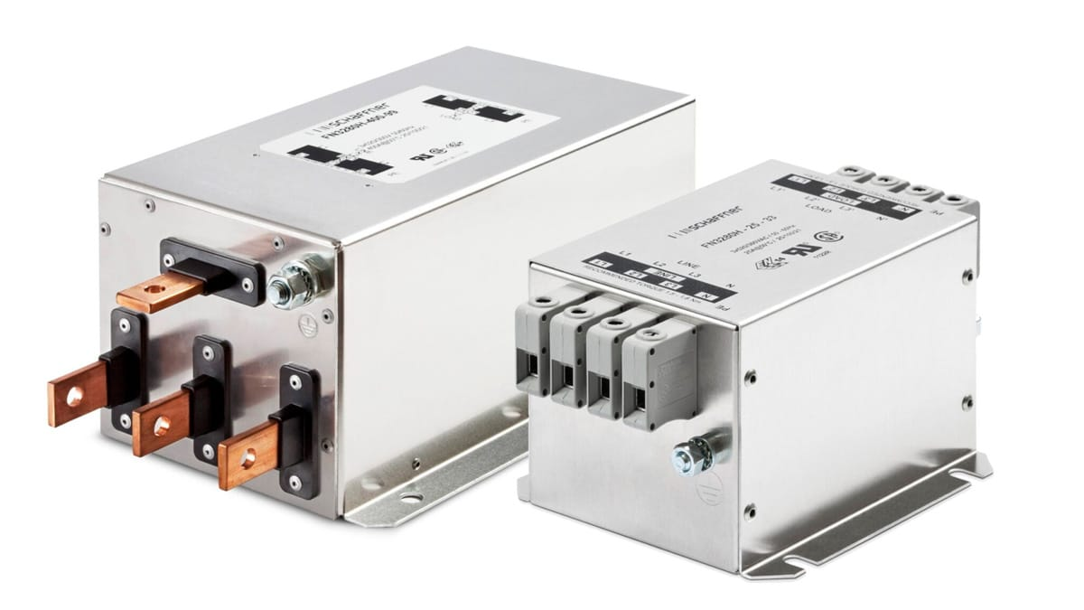 Schaffner Releases New Compact Space Saving EMC Line Filters