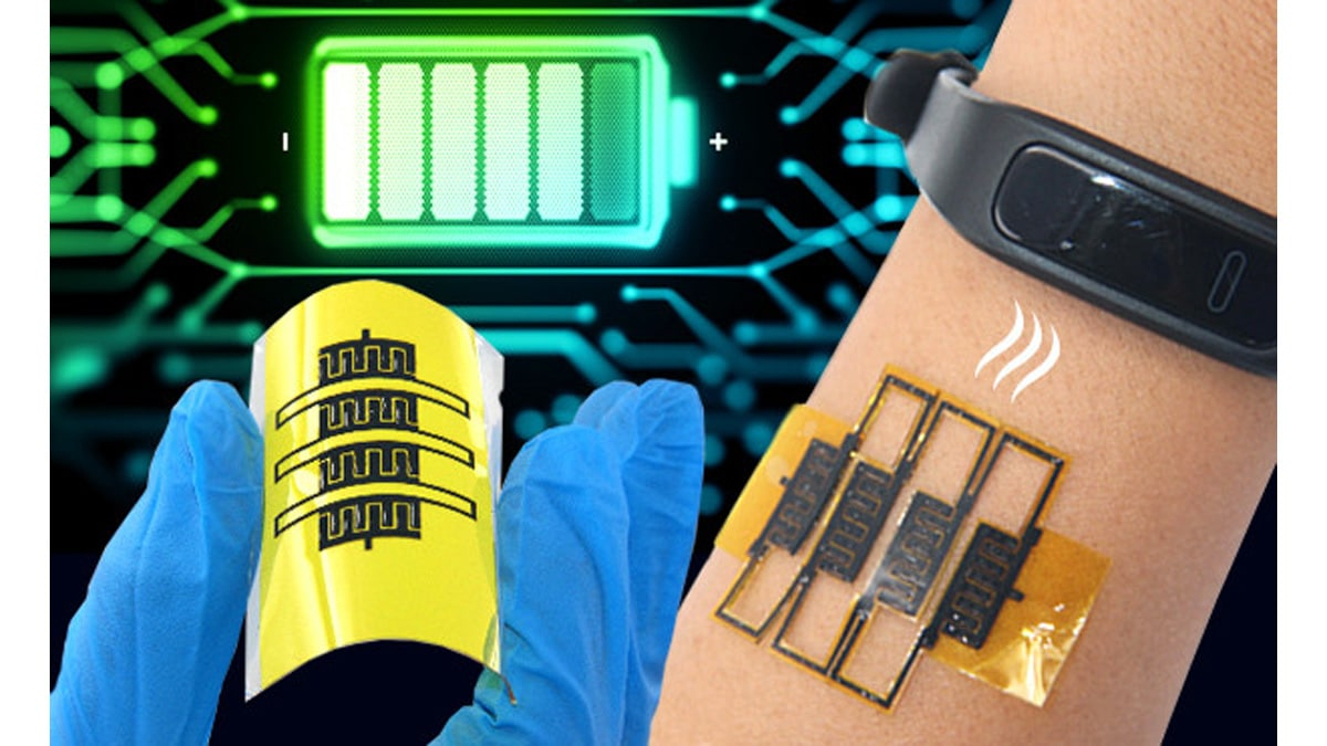 Stretchable Micro-Supercapacitors to Self-Power Wearable Devices