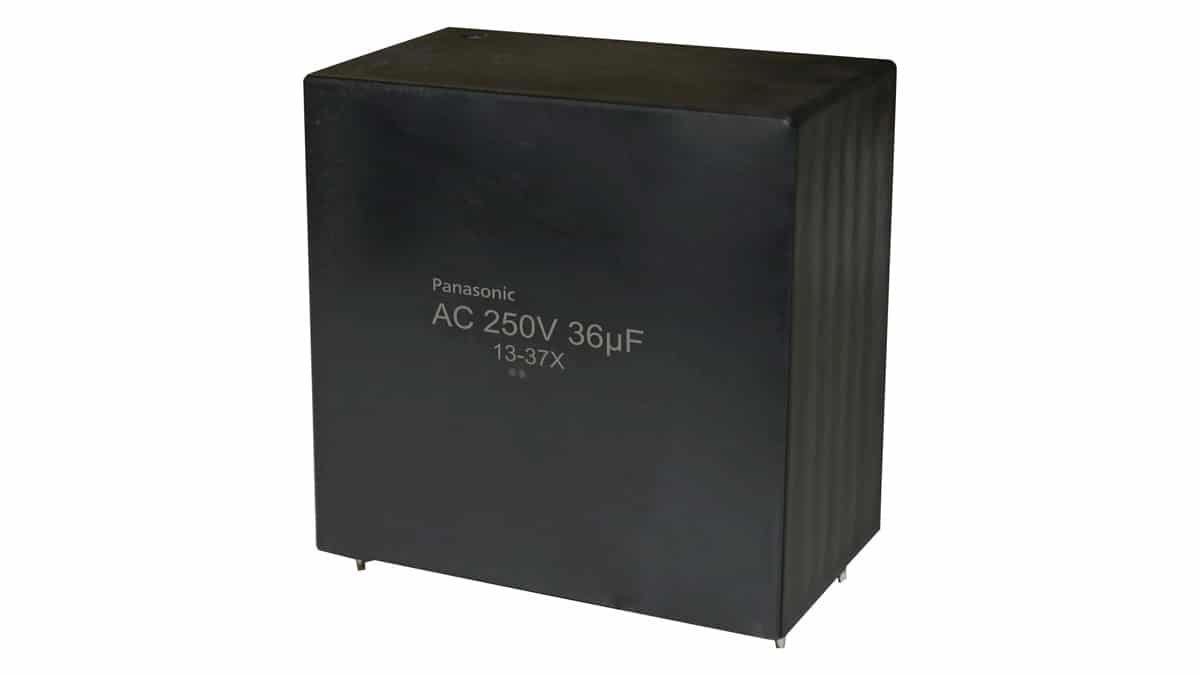 Panasonic Expand its Film Capacitor Offering