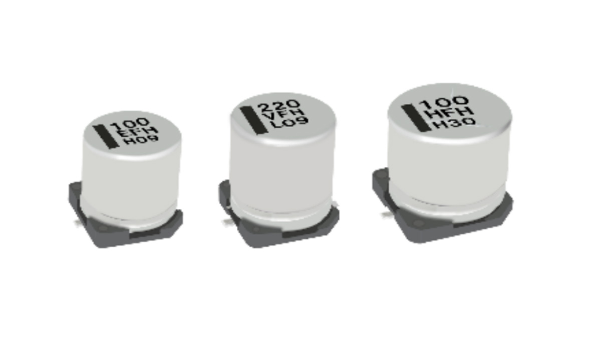 Panasonic Releasing Four New Series of Aluminum Electrolytic and Hybrid Capacitors