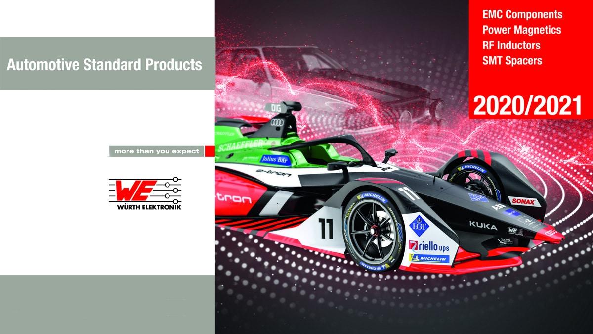 Würth Elektronik Published New Catalog of AEC-Q200 Automotive Components