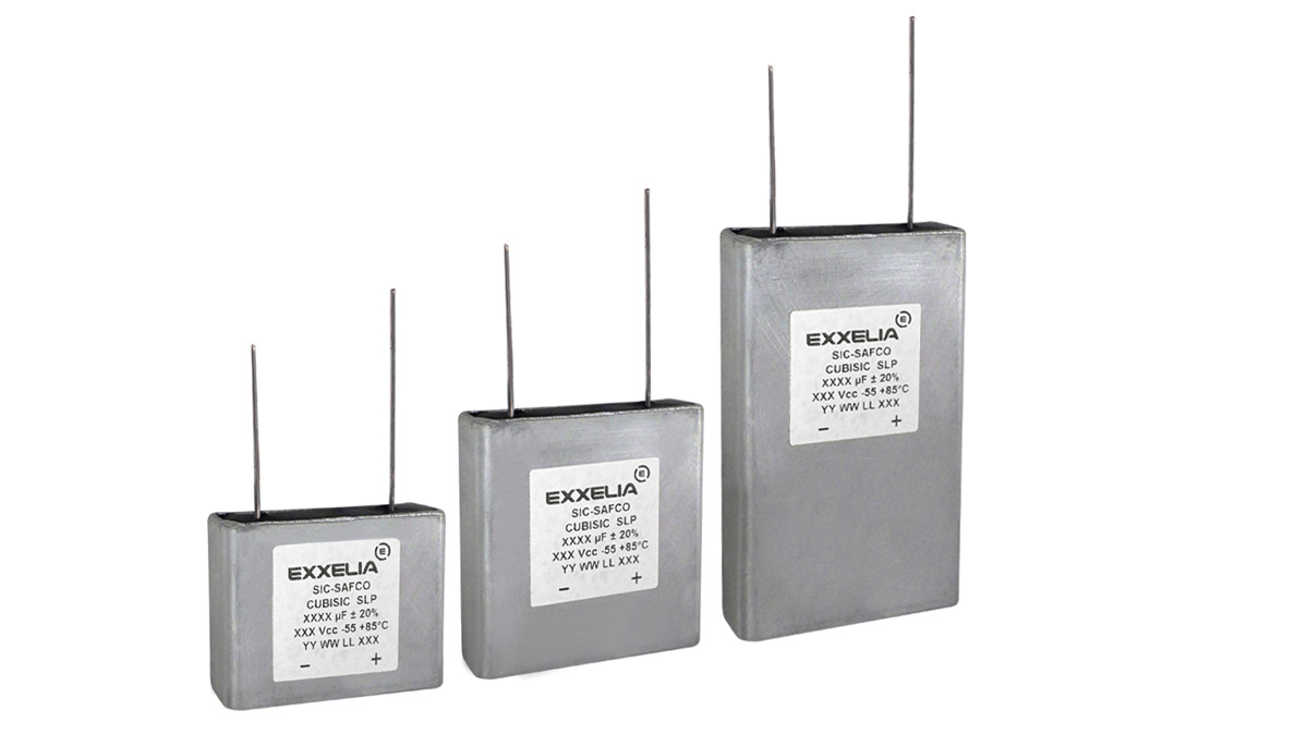 Exxelia Releases New Flat Pack Electrolytic Capacitors