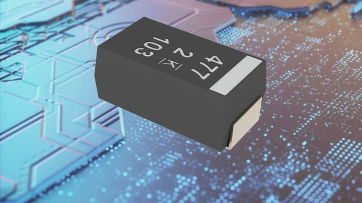 KEMET Releases New Series of High Temperature & High Humidity Aluminum Polymer SMD Capacitors