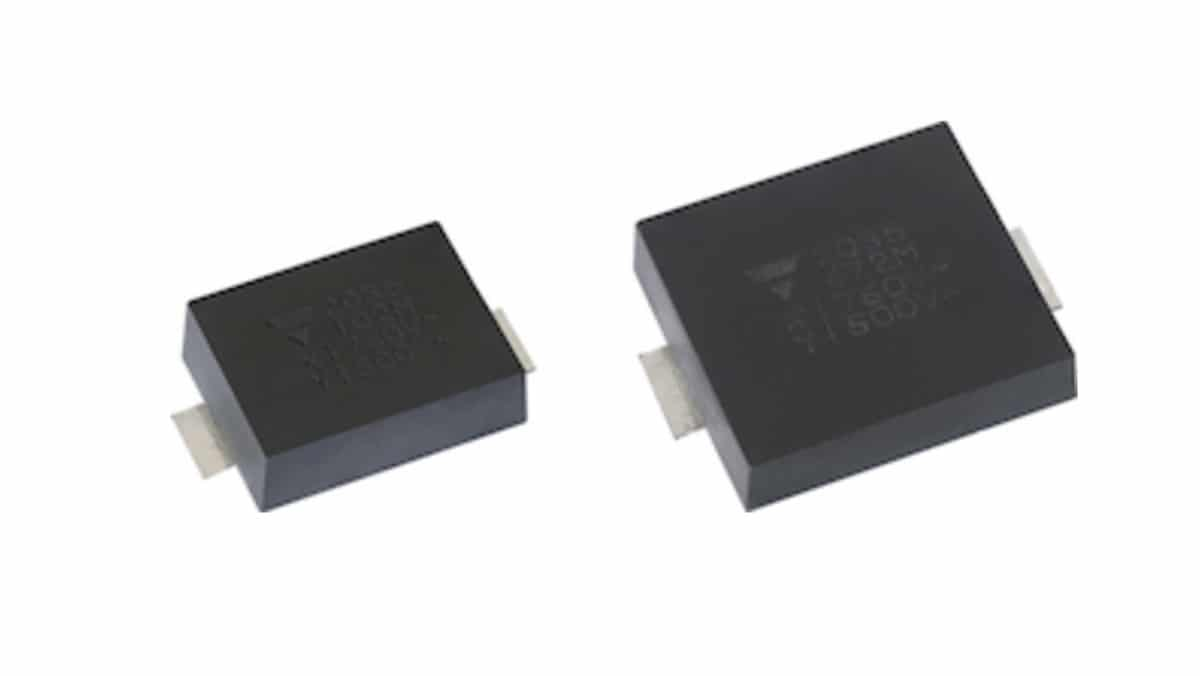 Vishay Releases Industry's First High Capacitance, High Voltage SMD Ceramic Safety Capacitors Ready for Harsh Environment